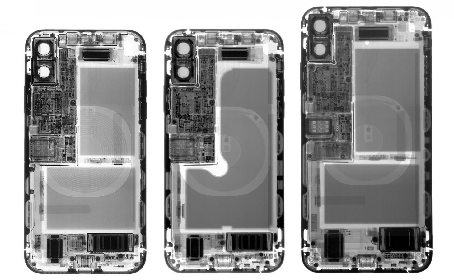 Double the iPhone XS Teardowns = Double the Wallpapers