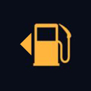 Fuel gauge symbol
