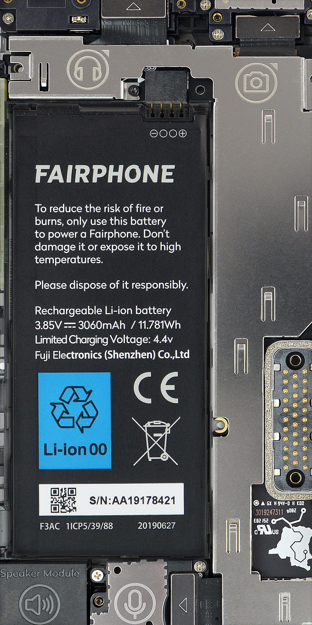 Fairphone 3 internal wallpaper