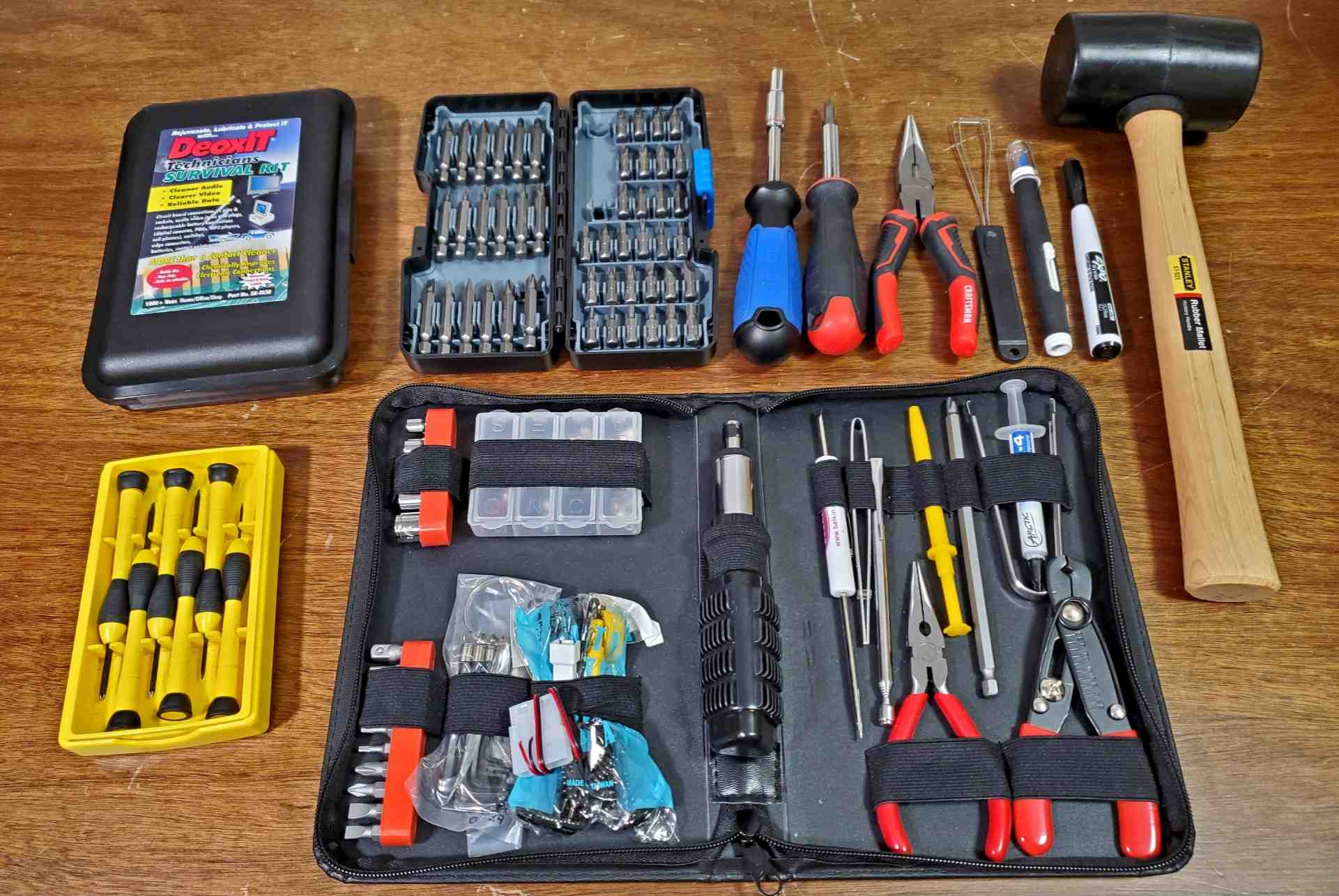 Clint Basinger's basic computer repair toolkit