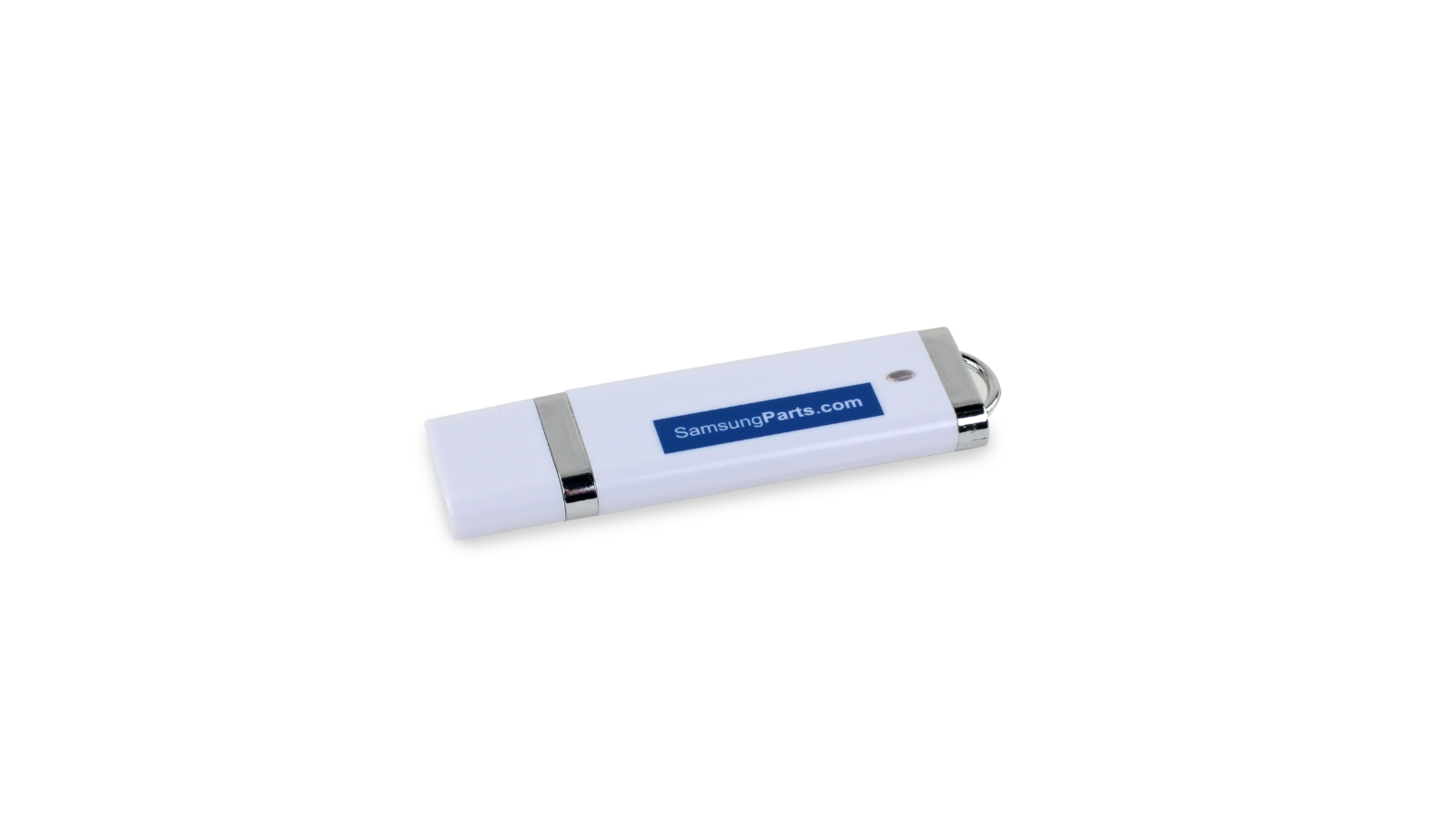 "USB drive labeled with ""SamsungParts.com"""