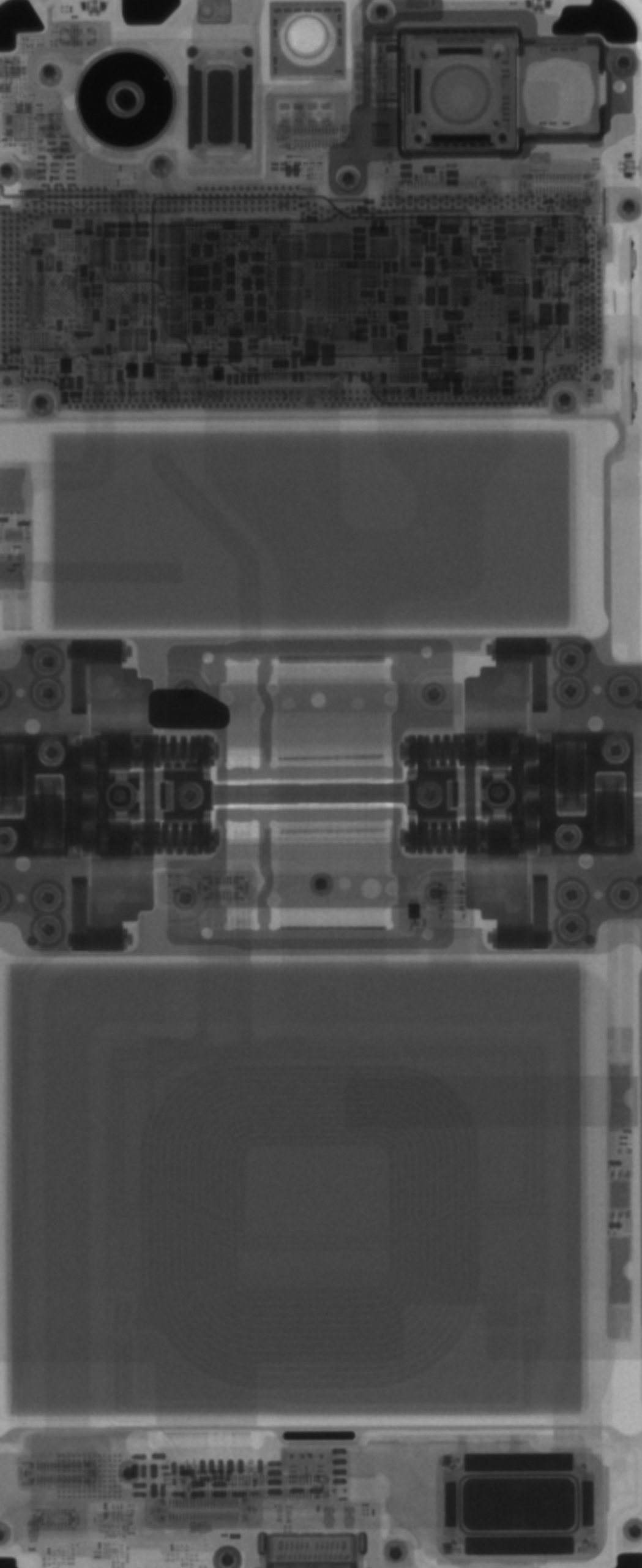 Samsung Galaxy Z Flip x-ray wallpaper