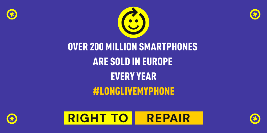 Right to Repair smartphone petition