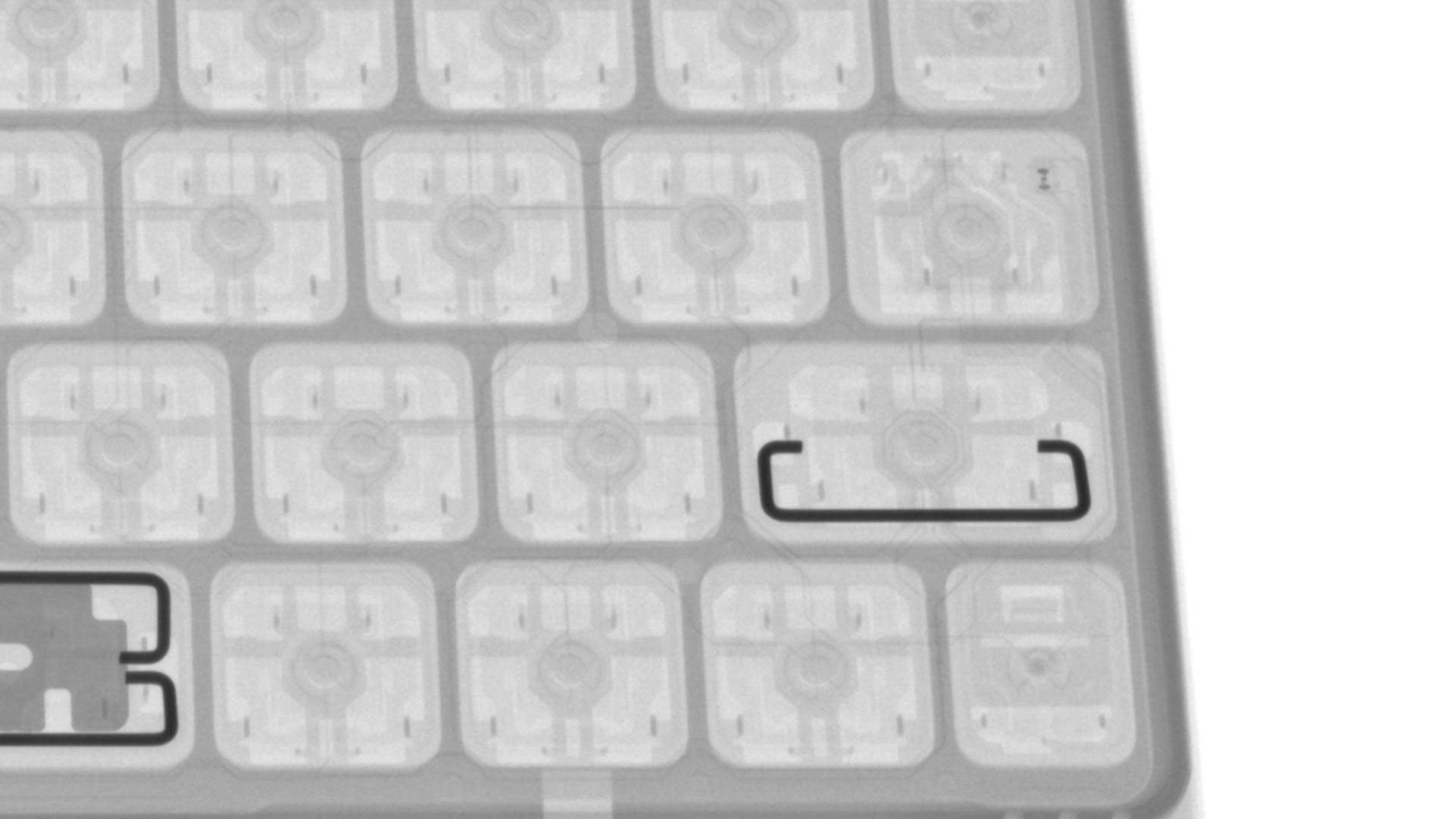 Scissor switches on the iPad Pro Magic Keyboard