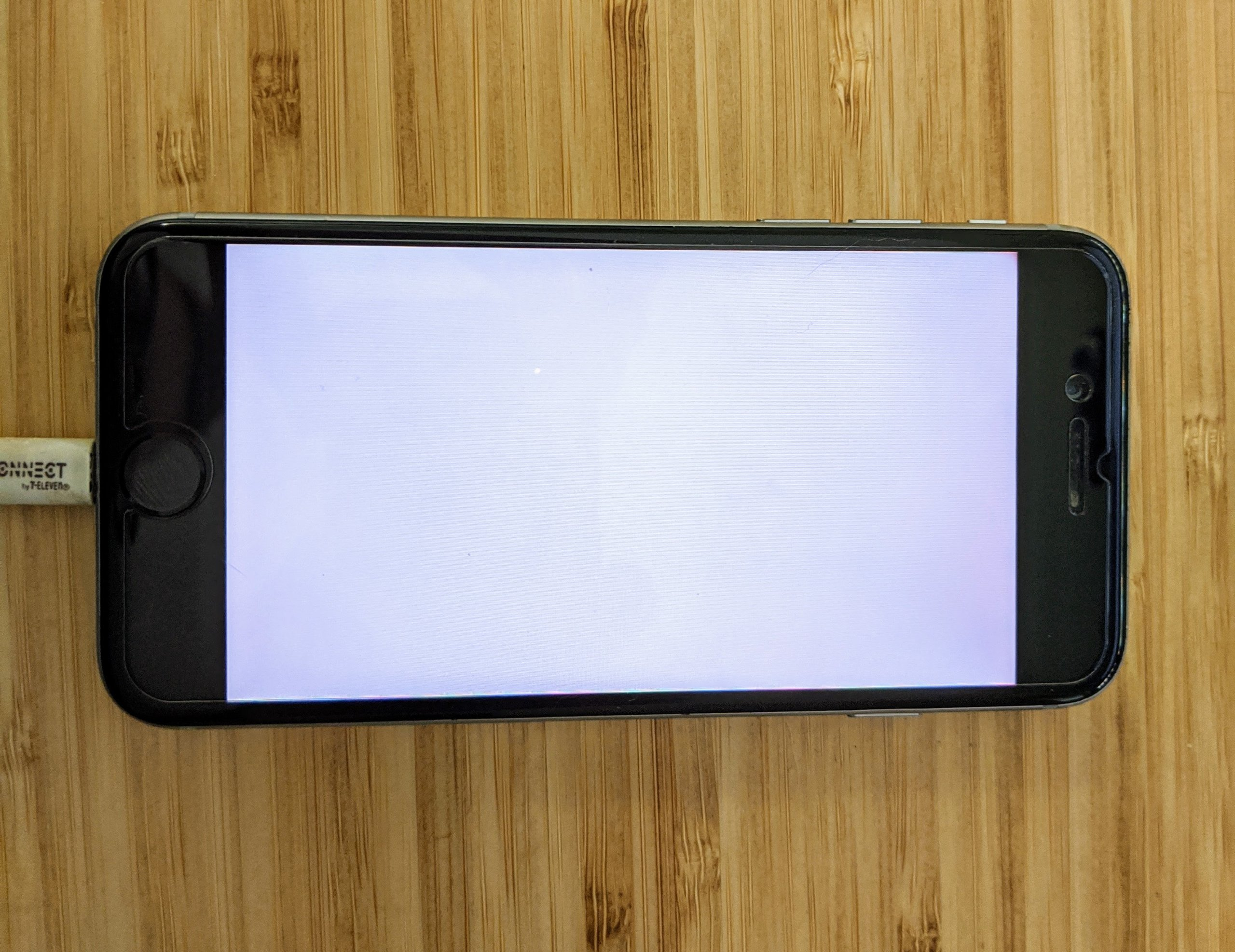 "iPhone 6 booted into ""Purple Mode"" using Purple app"