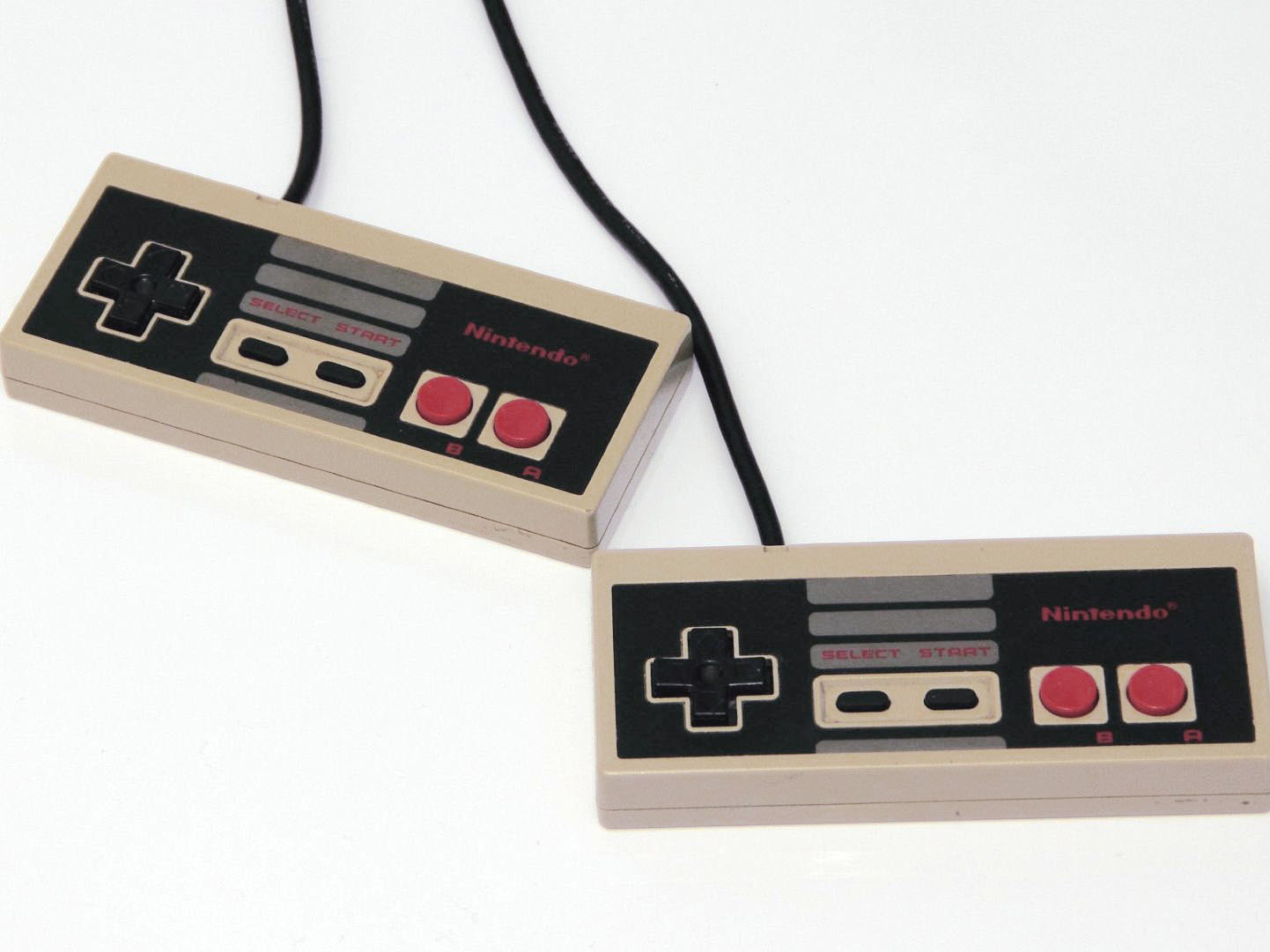 Old Nintendo controllers