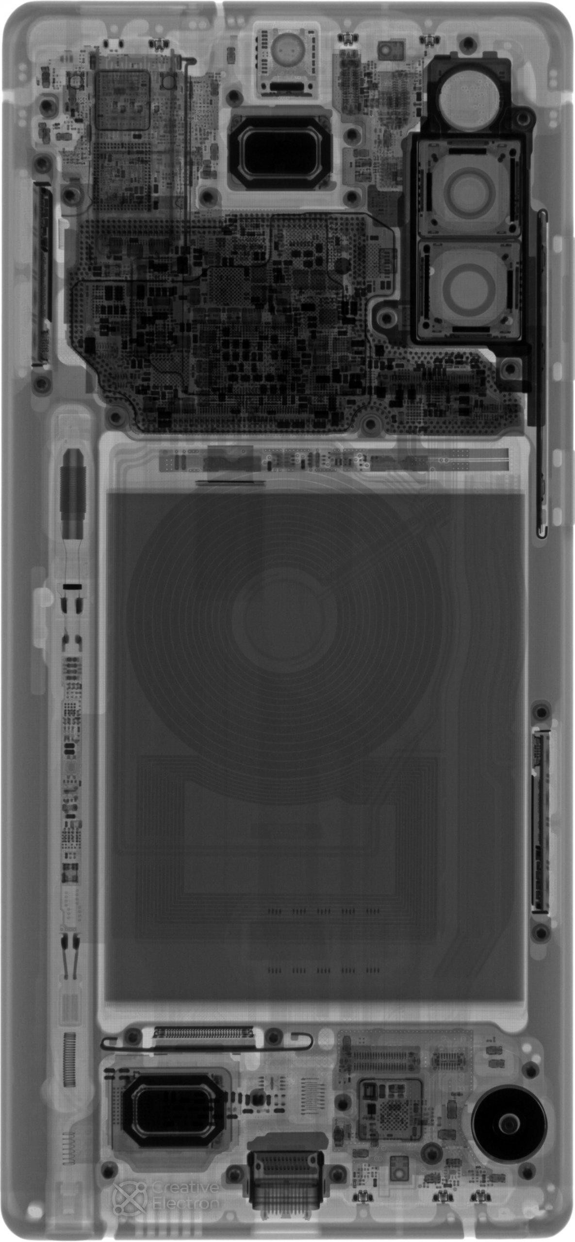 Galaxy Note 20 xray