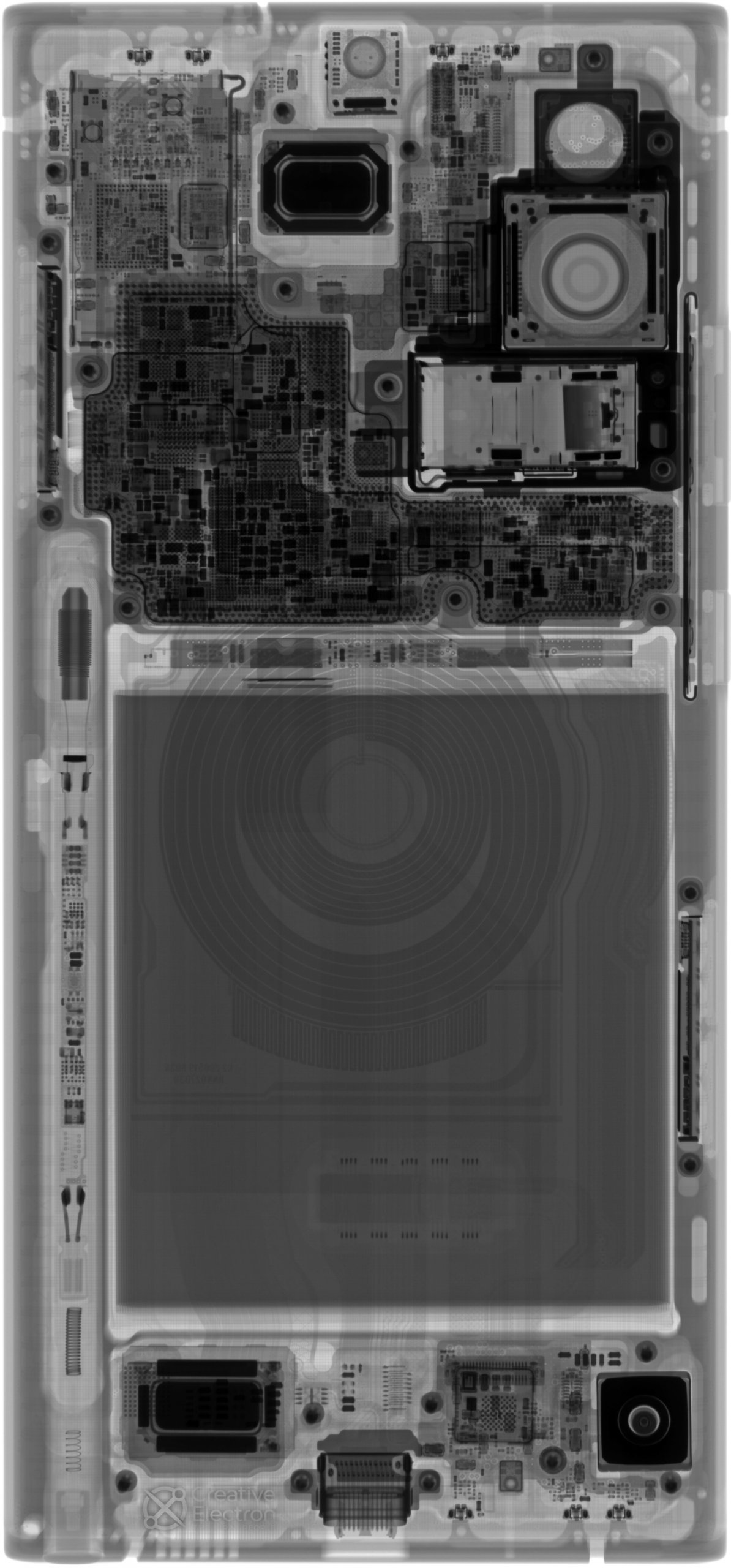 Galaxy Note 20 Ultra xray