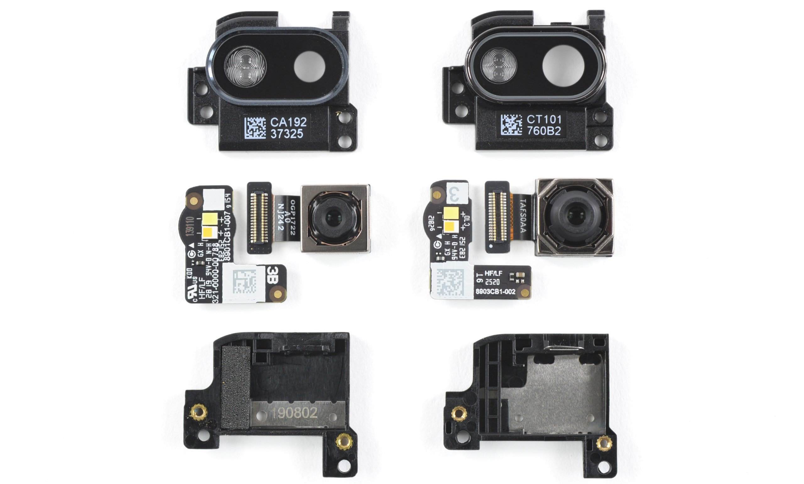 Fairphone camera modules