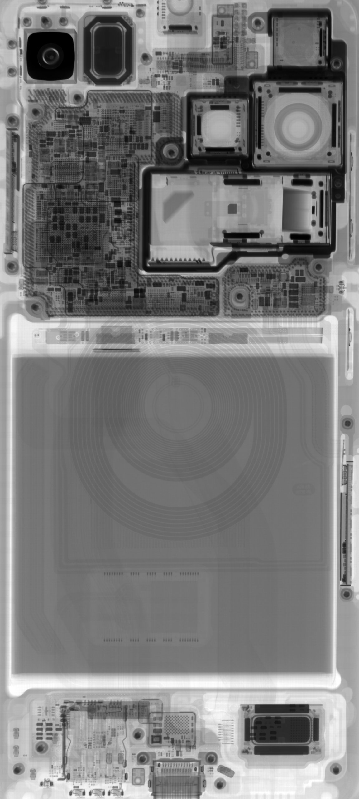 Galaxy S21 Ultra X-ray wallpaper