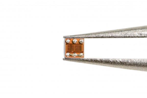 The back side of the desoldered sensor