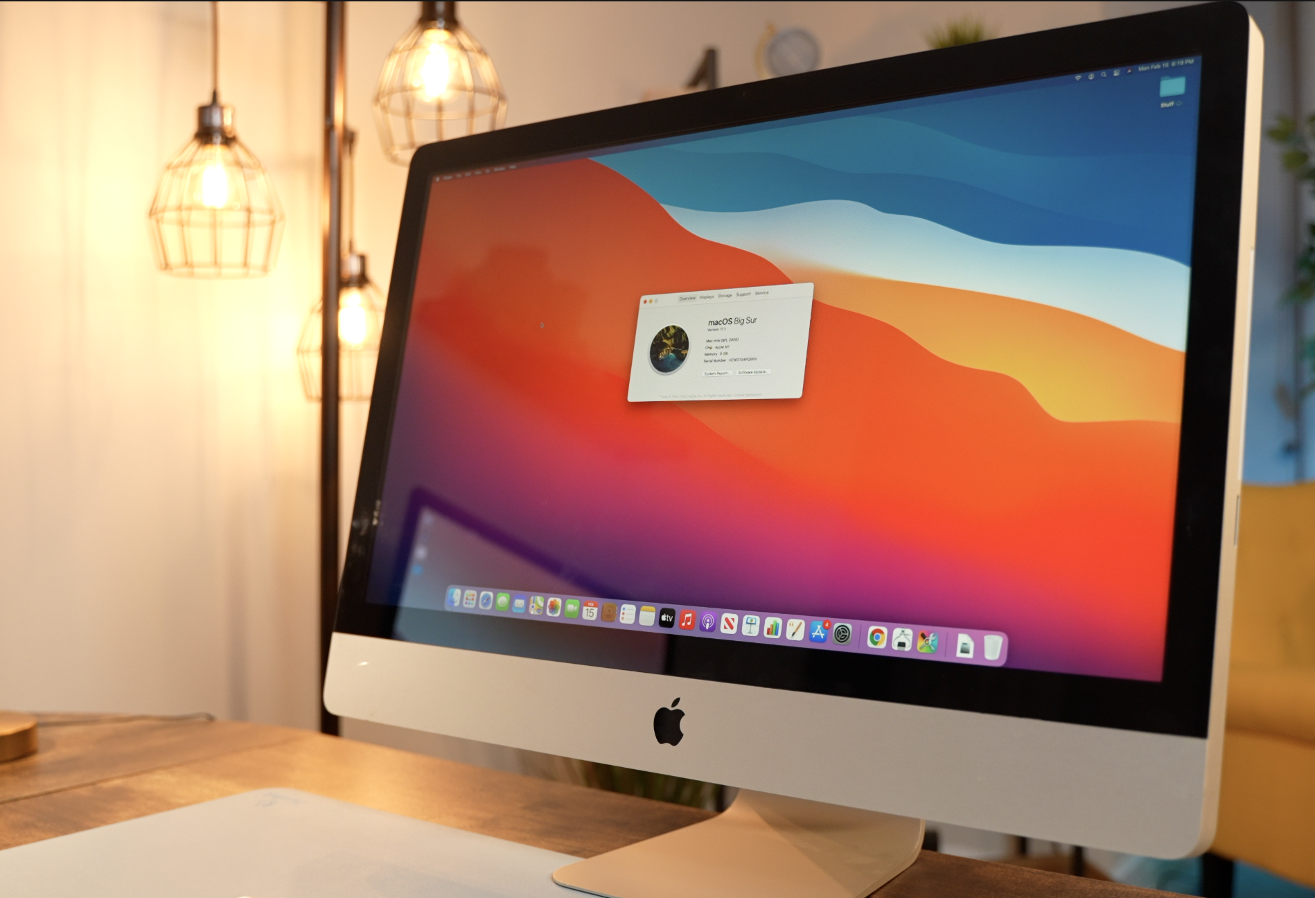 M1-powered iMac