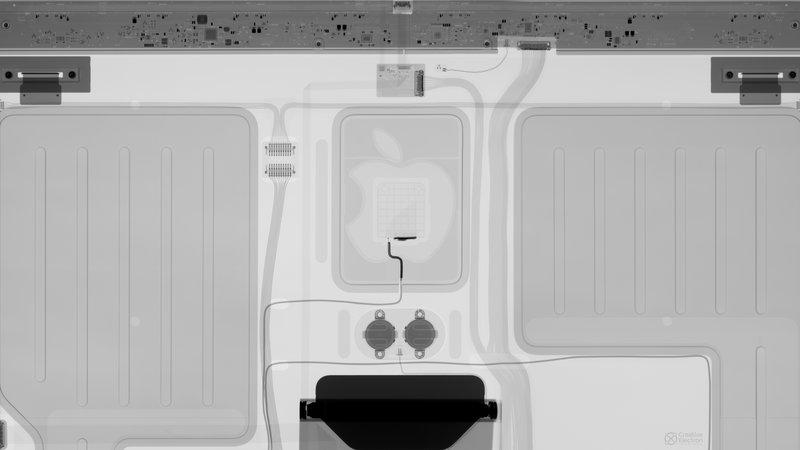 Fondo de pantalla interno de rayos X de iMac