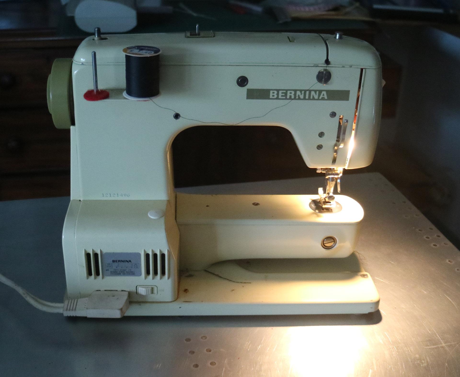 Tim Hunkin's Bernina sewing machine.